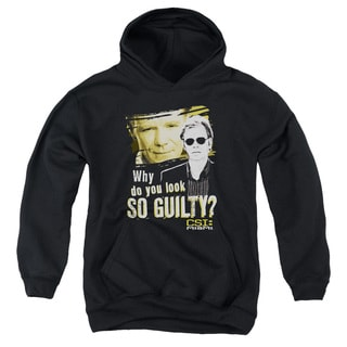 CSI Miami/So Guilty Youth Pull-Over Hoodie in Black
