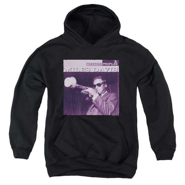 Concord Music/Prince Youth Pull-Over Hoodie in Black