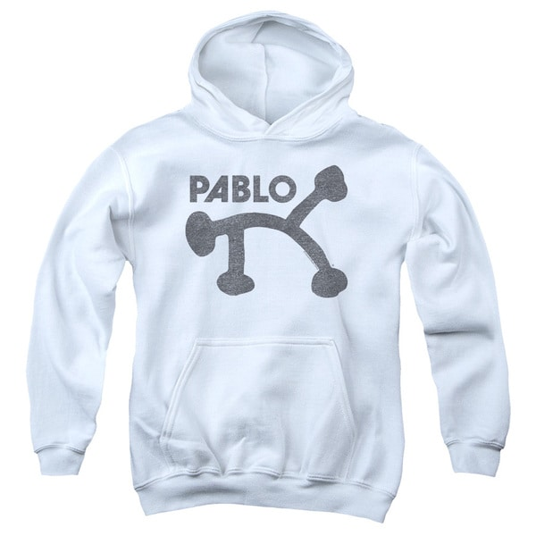 Concord Music/Retro Pablo Youth Pull-Over Hoodie in White