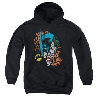 DC/Broken Visage Youth Pull-Over Hoodie in Black