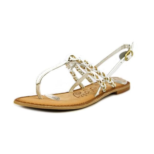 Naughty Monkey Women's Fresh Fry Leather Sandals