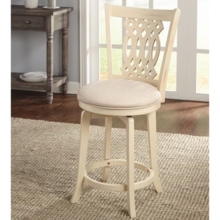 Simple Living Belfast 24 Inch Saddle Stool Set Of 2