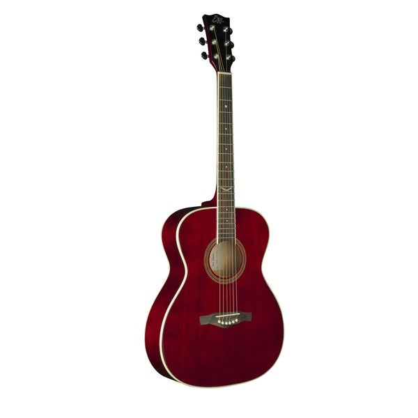 Eko Guitars 06217123 NXT Series Wine Red Auditorium Acoustic Guitar