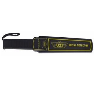 UZI Black Plastic Handheld Metal Detector