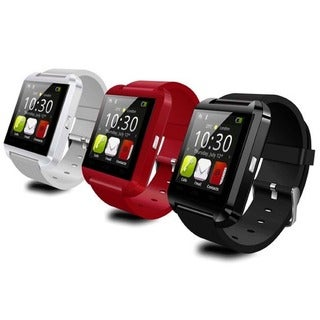 Bluetooth Black, Red or White Smart Watch for Android Phones