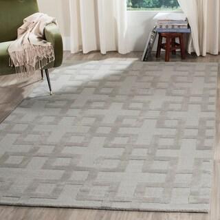 Safavieh Handmade Impressions Grey Wool Rug (4' x 6')