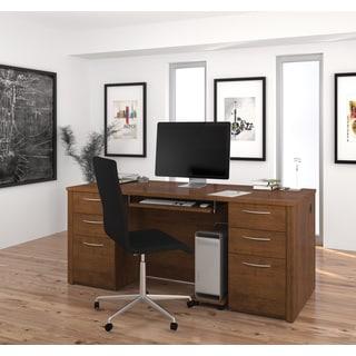 "Bestar Embassy 71"" Executive desk kit"