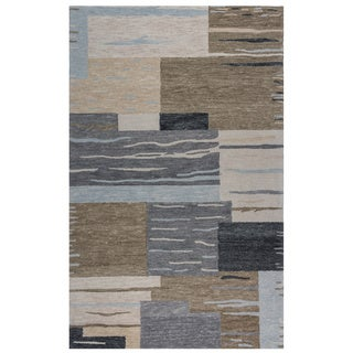 Rizzy Home Multi Leone Collection Abstract Accent Rug (2' x 3')
