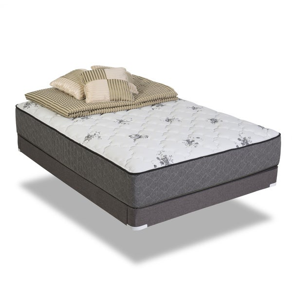 Wolf Twilight Plush Queen-size Innerspring Mattress Set