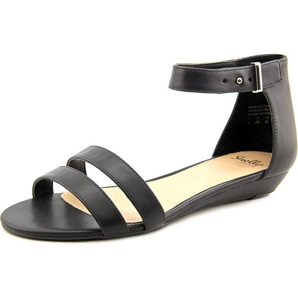 Shellys London Women's Olaedia Black Polyurethane Sandals