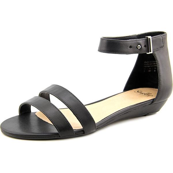 Shellys London Women's Olaedia Black Polyurethane Sandals