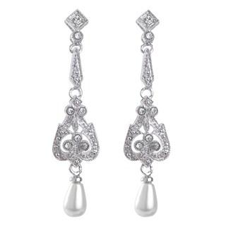 Pearl Art Deco Earrings