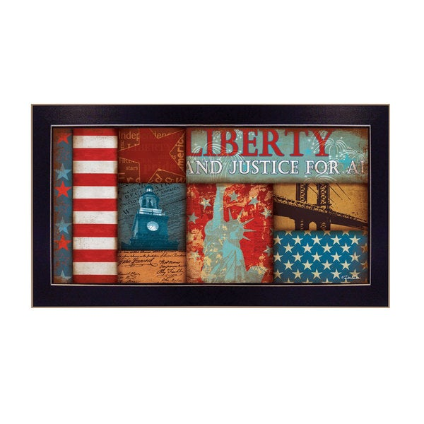 Dee Dee 'Liberty' Framed Art