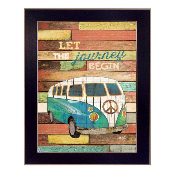 Marla Rae 'Let the Journey Begin' Framed Art