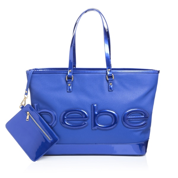 BEBE Madison Embossed Tote Bag