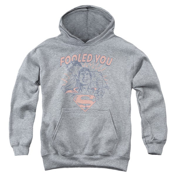 DC/Fooled You Youth Pull-Over Hoodie in Heather