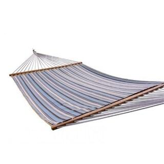 Sunbrella Carnegie Celeste Multicolored Quilted Double Hammock