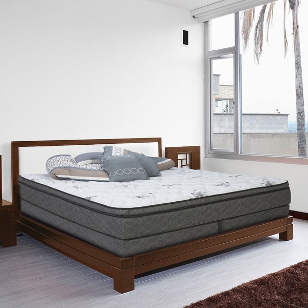 Wolf Endless Nights King-size Pillow-top Innerspring Mattress Set