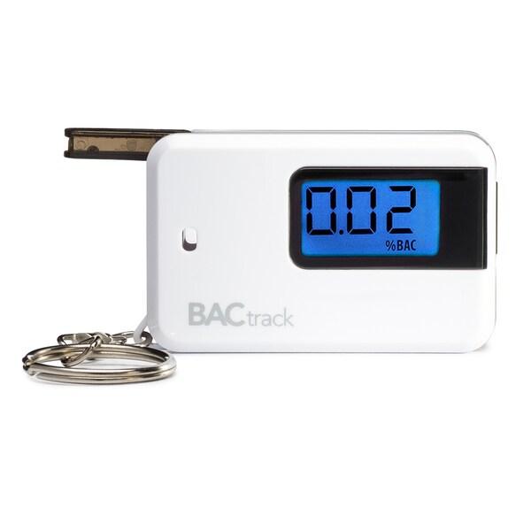 BACtrack Go White Breathalyzer Keychain