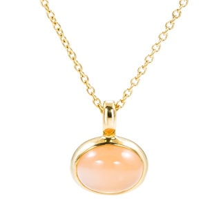 Pre-Owned Lalla & Rossana 18k Yellow Gold Citrine Necklace