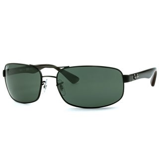 Ray-Ban RB3445 006/P2 Black Frame Polarized Grey 64mm Lens Sunglasses