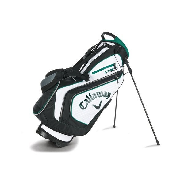 Callaway White, Black and Green Unisex Golf Stand Bags
