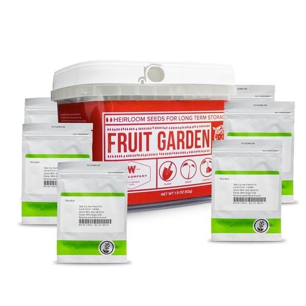 Wise Foods Heirloom Fruit Seed Bucket