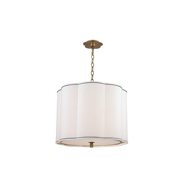Hudson Valley Sweeny 4 Light Brass Pendant