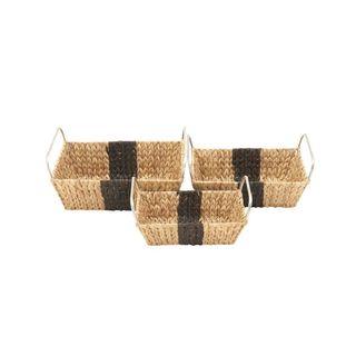 Brown Durable Sea Grass Basket Set