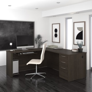 Bestar Embassy 71 inch L-shaped desk
