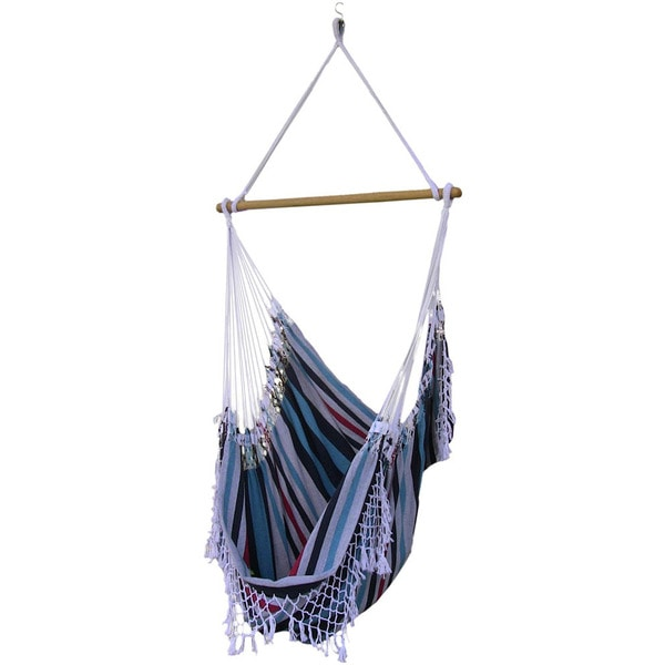 Brazilian Lightweight Denim Hammock Chair