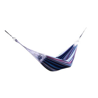 Brazilian Style Denim Lightweight Single Hammock