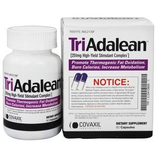 Covaxil Laboratories Triadalean Weight Loss Supplement (60 Caplets)