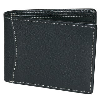 Dopp Hudson Men's Bifold Leather Slimfold Wallet