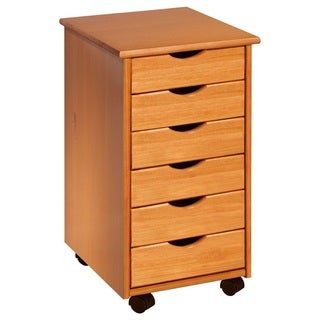 6-drawer Rolling Craft and Hobby Storage Cart