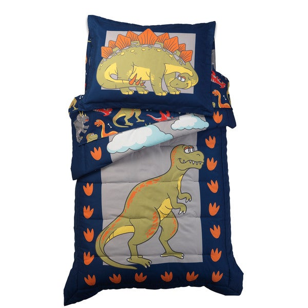 Dinosaur 4-piece Toddler Bedding Set
