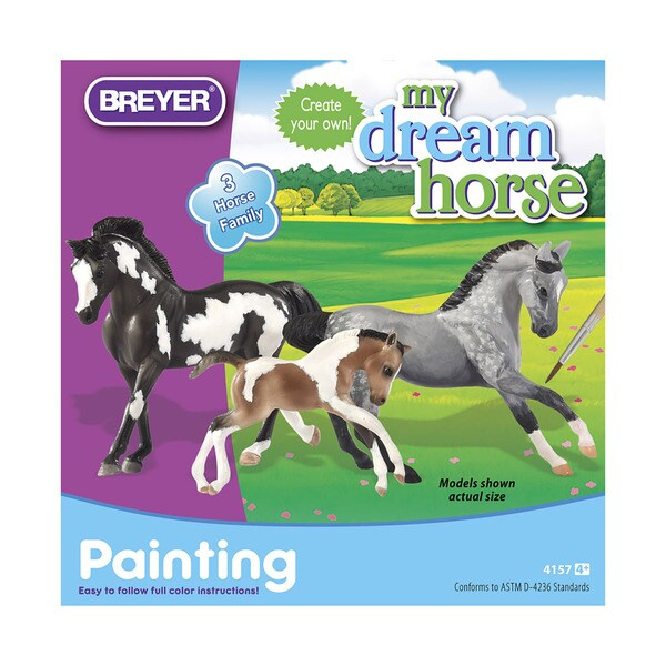 Breyer Horse Family Painting Kit 18774527
