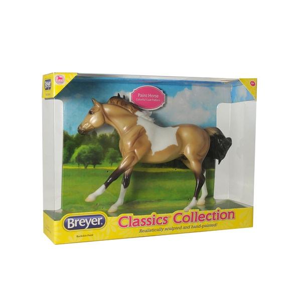 Breyer Classics Buckskin Model American Paint Horse 18774543