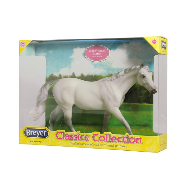 Breyer Selle Francais Grey Model Horse 18774550