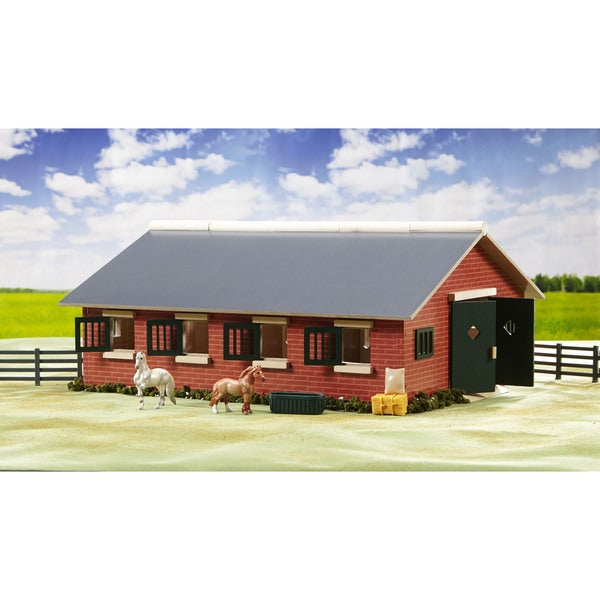 Reeves Breyer Stablemates Deluxe Plastic Stable Set 18774609