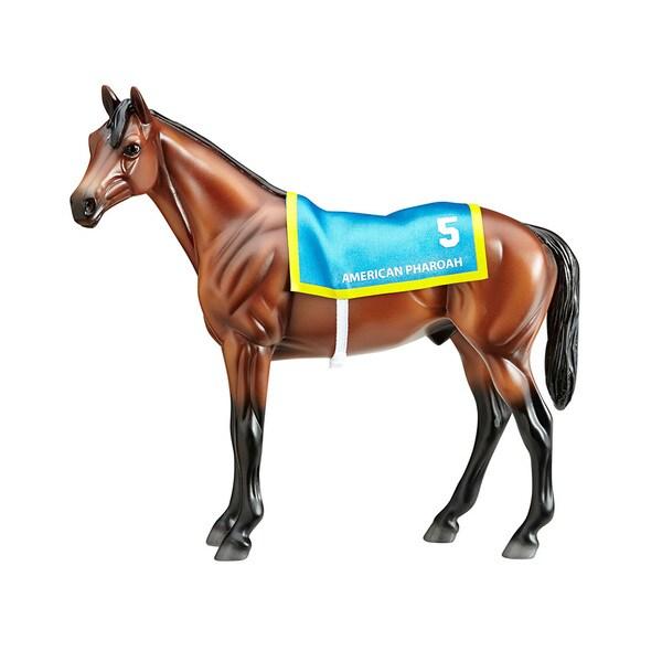 Breyer Classics American Pharoah Plastic Horse Model