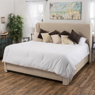 Christopher Knight Home Waterville Upholstered Fabric King-Sized Bed