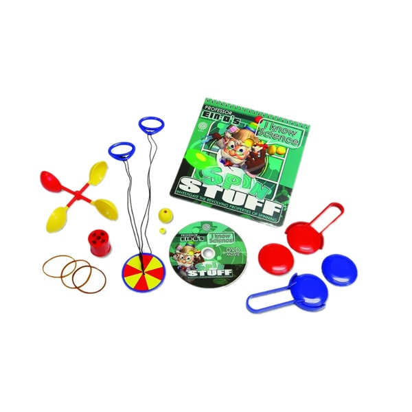 Tedco Toys Kids Activity Spin Stuff