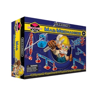 Tedcotoys Mad Mechanics Discovery Box Hands-on Learning Children's Toy