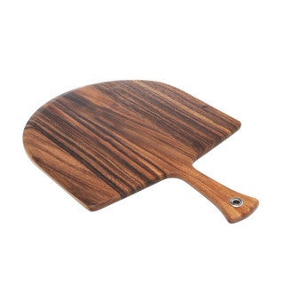 Ironwood Gourmet Brown Acacia Wood Pizza Peel