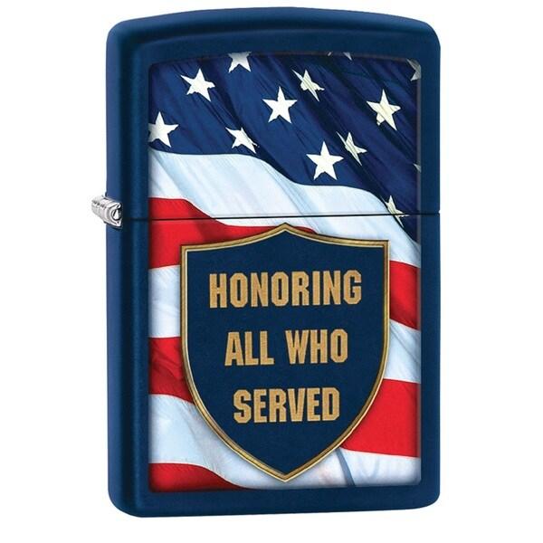 Zippo Honoring All Who Served Pocket Lighter