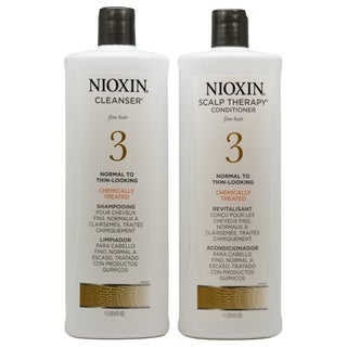 Nioxin Scalp Therapy System 3 33.8-ounce Cleanser and Scalp Therapy Duo Pack