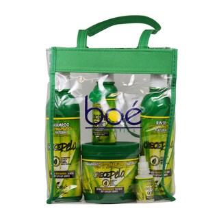 BOE Crece Pelo 5-piece Combo Set with Tote Bag