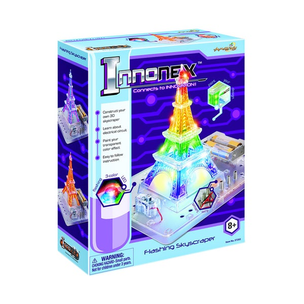 Tedcotoys Kids' Innonex Flashing Skyscraper