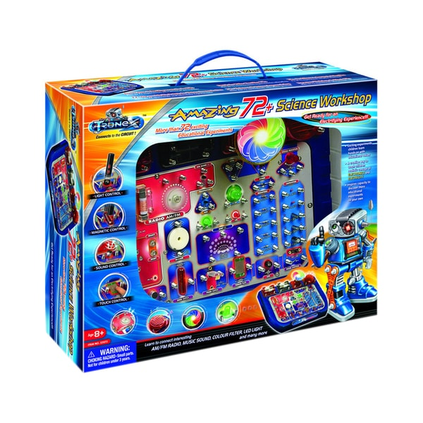 TEDCO Toys Tronex Kids Amazing Science Workshop Kit with 72 Educational Experiments